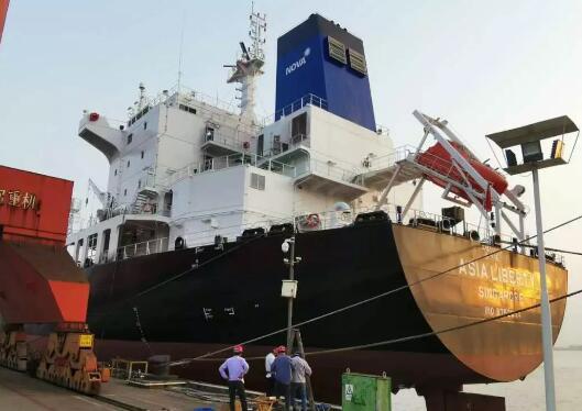 江苏振华泵业环科船用脱硫系统顺利完成试航交验