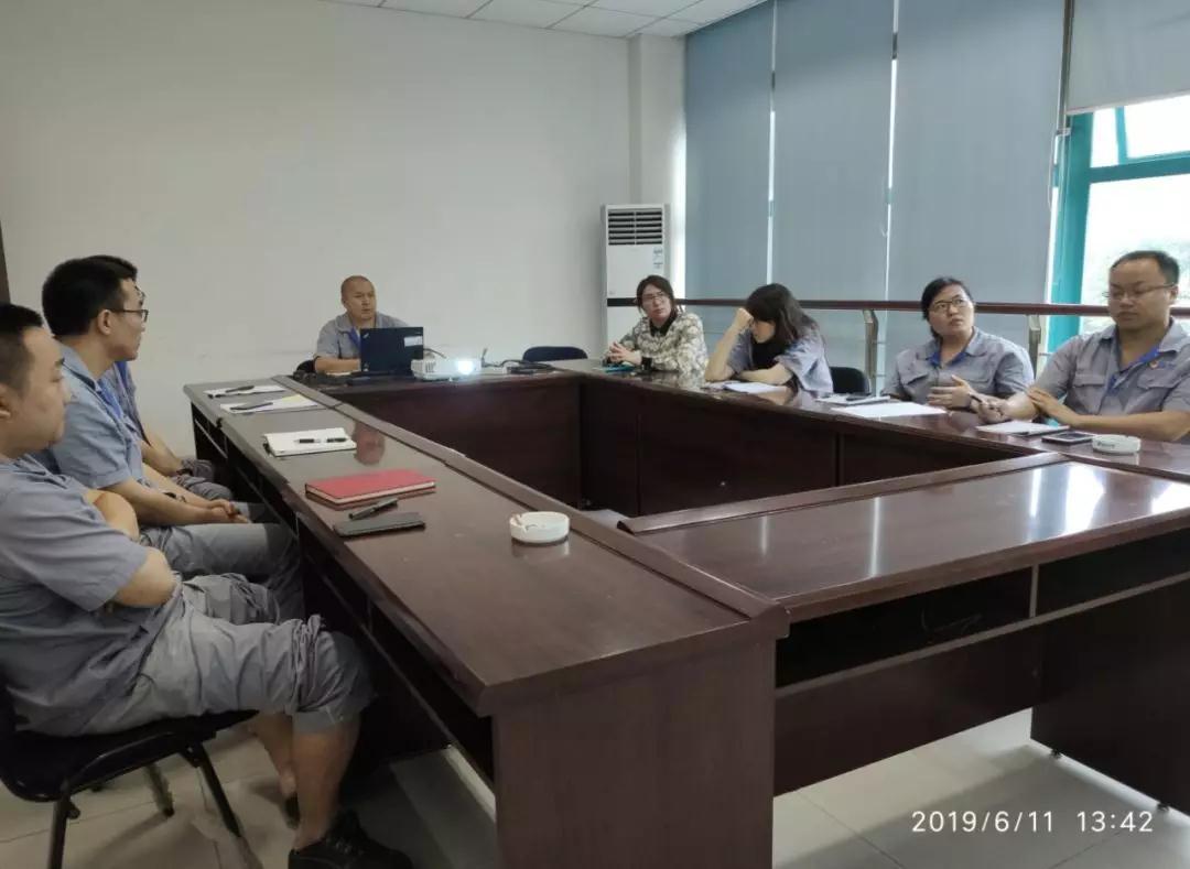 重庆水泵精准交付小组QC圈会