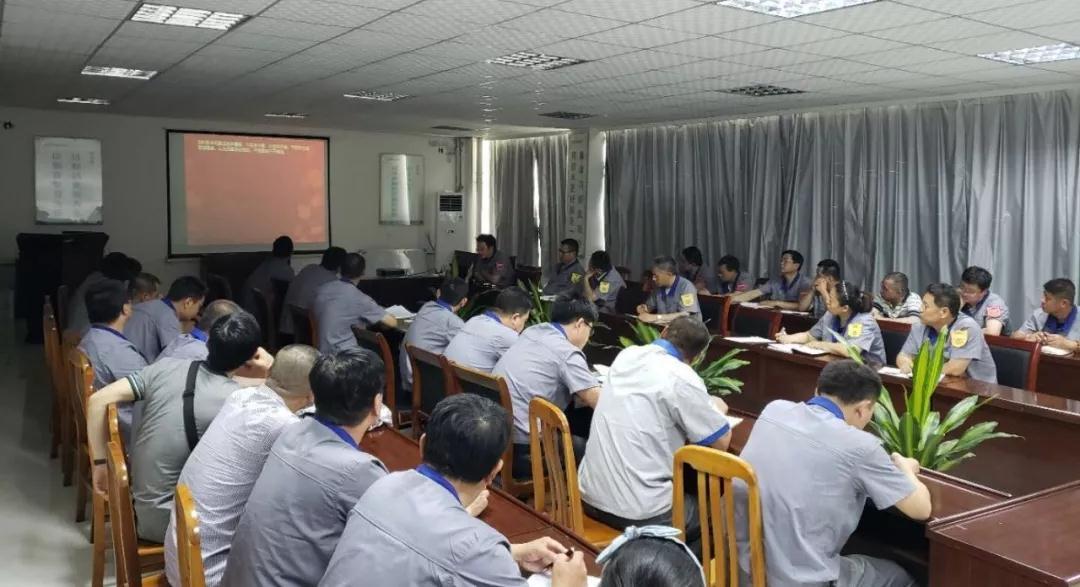 """恒邦泵业公司开展""""安全生产月""""专题培训"""