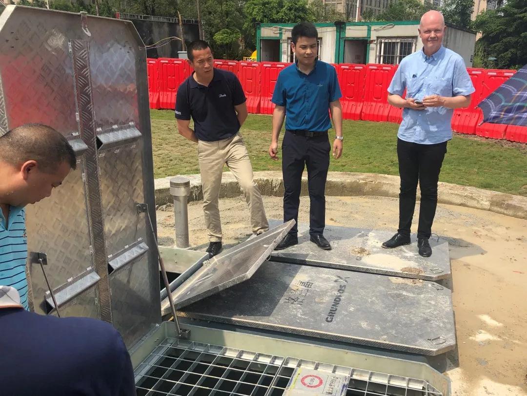 格兰富水泵:中丹水务代表齐聚广州,为增城水体治理点赞
