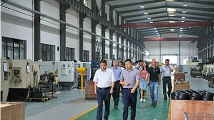 杭州市政协领导到永盛科技政协委员工作站指导工作