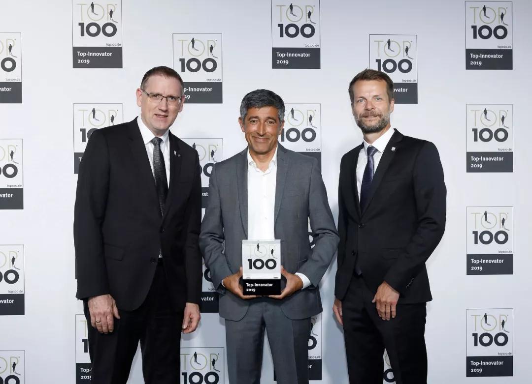 """威乐WILO荣膺德国""""TOP 100""""最具创新力企业奖"""