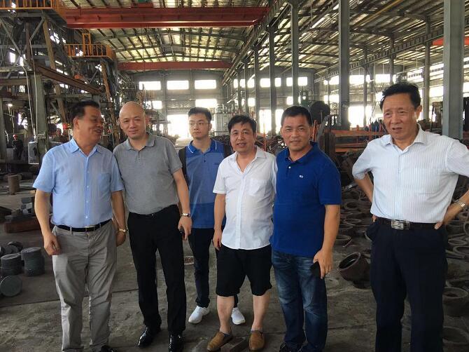 浙江联大锻压有限公司的新厂房新设备已基本全部运转