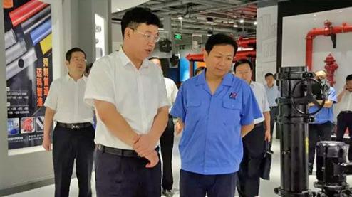 平阴县委领导莅临玫德集团参观调研