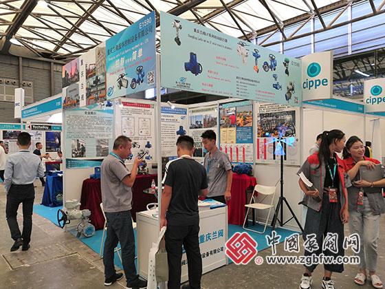 重庆兰阀参加2019第十一届上海国际化工泵、阀门及管道展览会