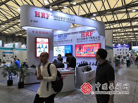海睿阀门参加2019第十一届上海国际化工泵、阀门及管道展览会