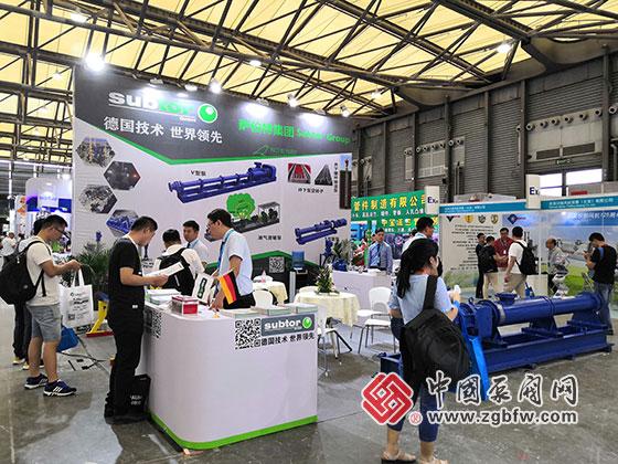 萨伯特集团参加2019第十一届上海国际化工泵、阀门及管道展览会