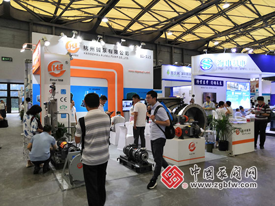 杭州碱泵参加2019第十一届上海国际化工泵、阀门及管道展览会
