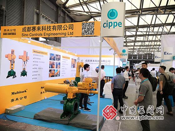 成都赛来科技参加2019第十一届上海国际化工泵、雷火app官网及管道展览会