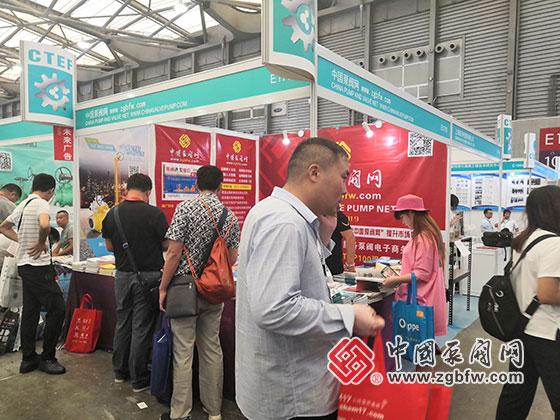 中国泵阀网参加2019第十一届上海国际化工泵、阀门及管道展览会