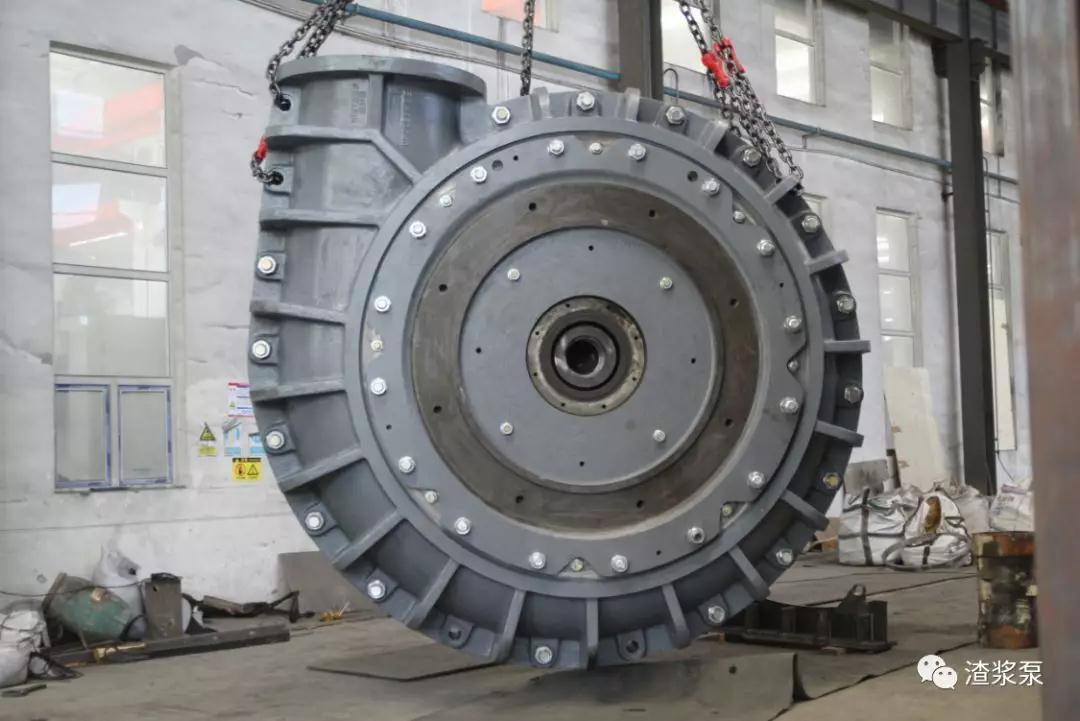 国内最大的磨机泵试装成功