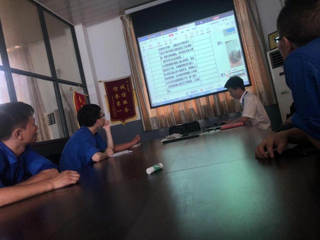 南方泵业:提升员工质量意识,开展装配工艺培训