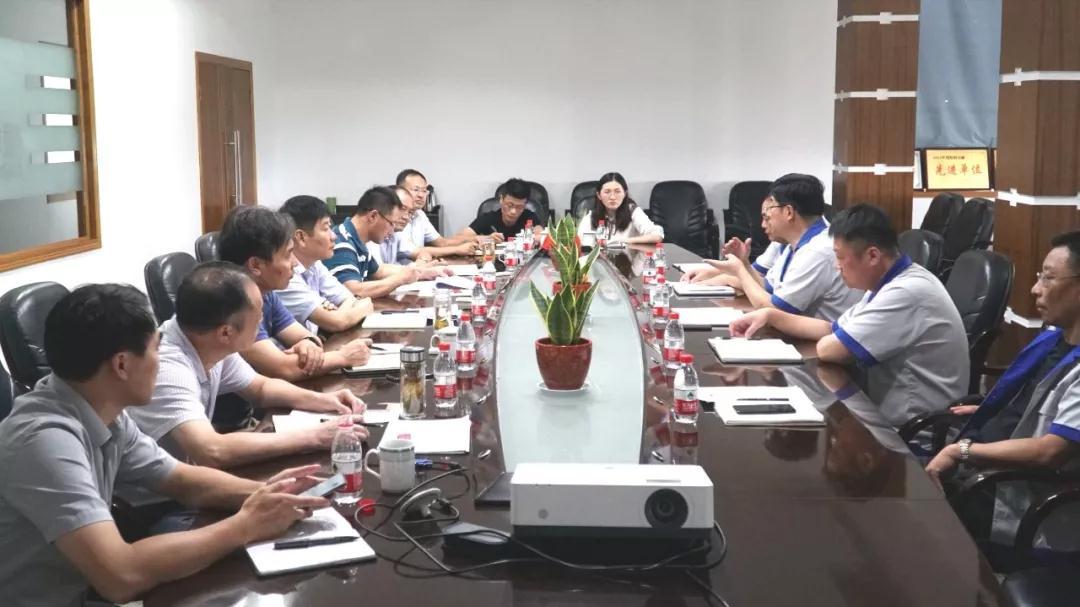 姜堰区委、开发区领导莅临振华泵业考察调研