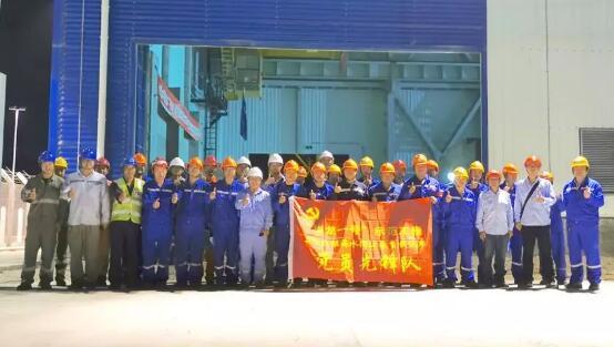 上海阿波罗机械供货的福清5号机组海水循环泵带载试车顺利完成