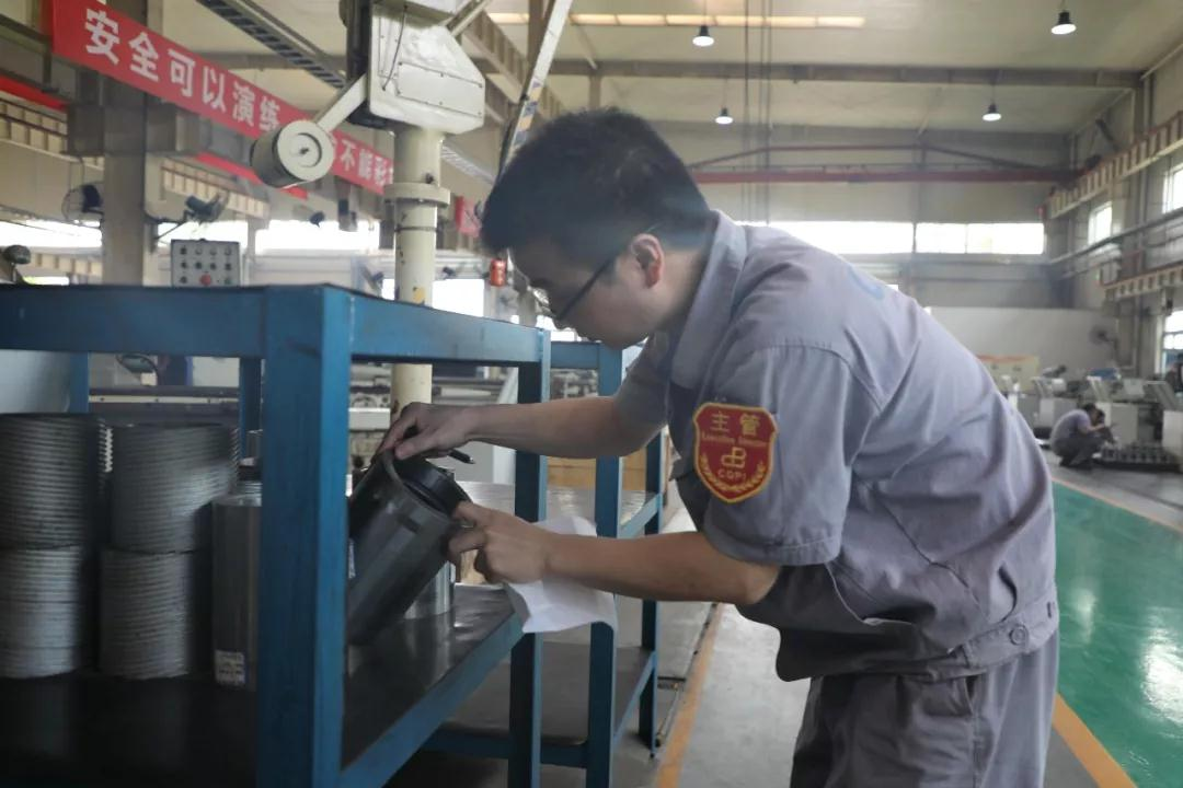 重庆水泵公司车间现场推行区域统制 效果显著