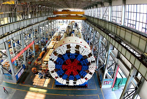 我国出口俄罗斯11米级大直径盾构机