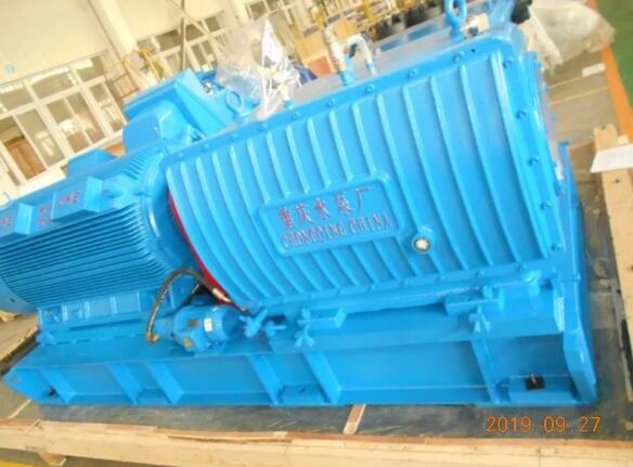 重慶水泵公司完成中國臺灣地區首單訂貨交付