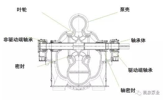 KQSN船用系列水平中開雙吸泵 出場即出彩