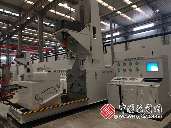 浙江优机机械大型阀门扭矩试验台入驻西安泵阀总厂