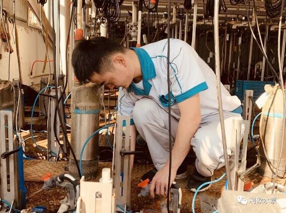 记利欧集团浙江泵业实验室曹技术员