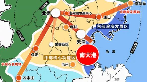 ▲南大港产业园区位图