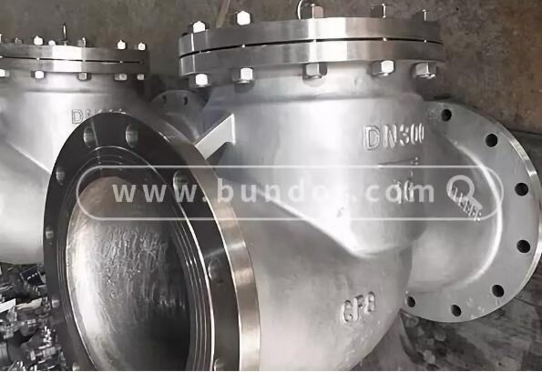 北京某公司采购般德不锈钢止回阀用于电厂