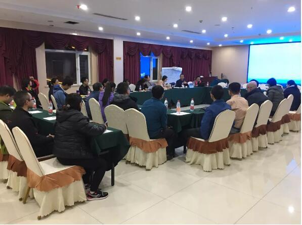 △兰格总裁胡翔宇先生在会上对工作情况进行回顾和总结