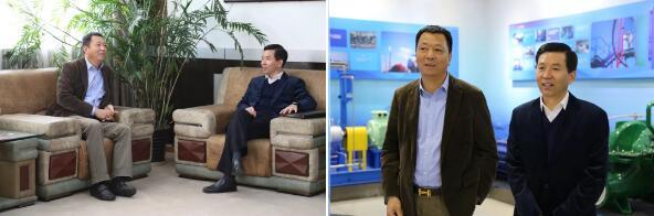 嘉定区政协主席刘海涛一行赴连成集团实地考察和调研
