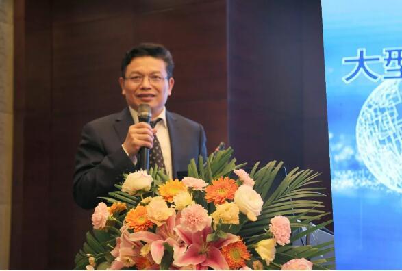 大型潜水电泵及装备安徽省重点实验室主任朱庆龙先生发表讲话