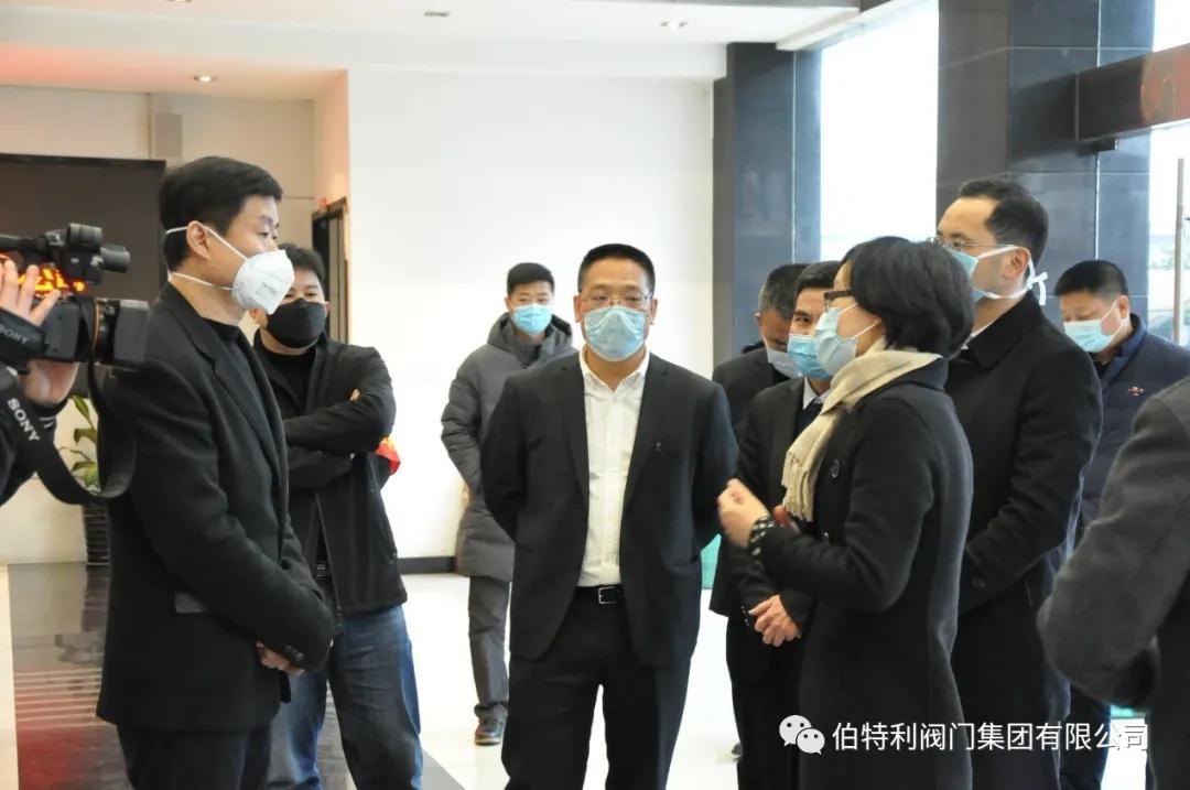 王彩蓮走訪調研伯特利察看復工復產情況