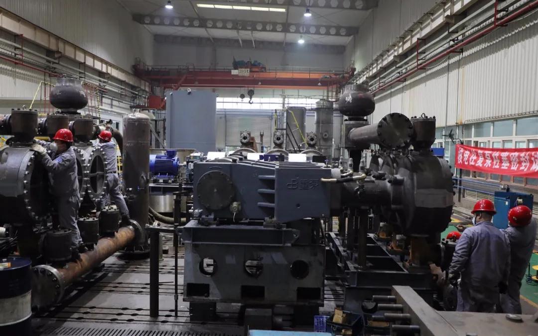 """重慶水泵公司啟動""""同心戰'疫'保安全、 勇于擔當搶任務""""主題勞動競賽"""