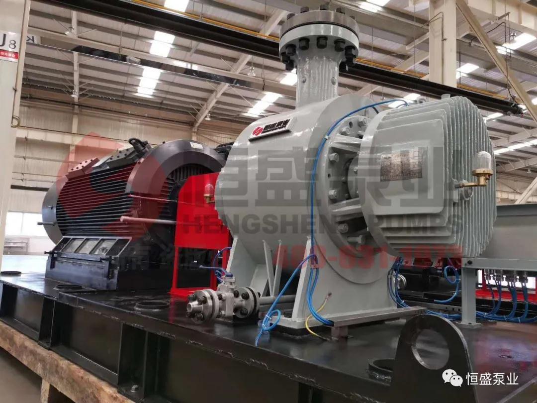 恒盛泵业高压双螺杆原油外输泵项目完美收官