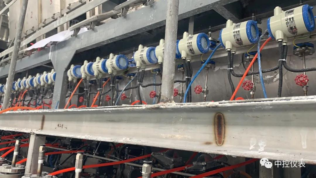 中控仪表公司电磁流量计成功中标浙江金科日化SPC包衣喷头改造项目