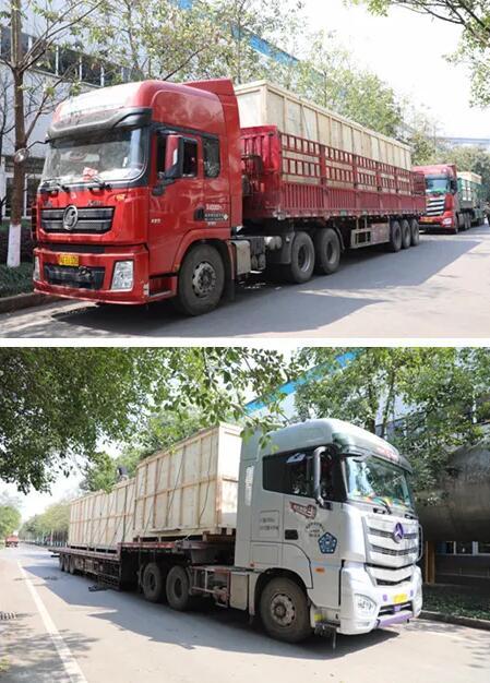 重庆水泵公司6台注水输送泵按期交付中海油