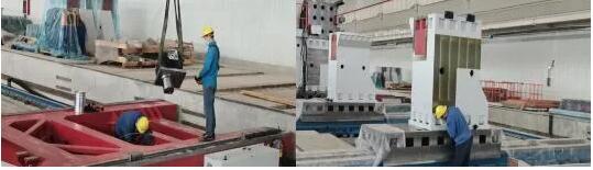 """复工战""""疫"""":齐二机床公司风电机架柔性化生产线发往用户安装调试"""
