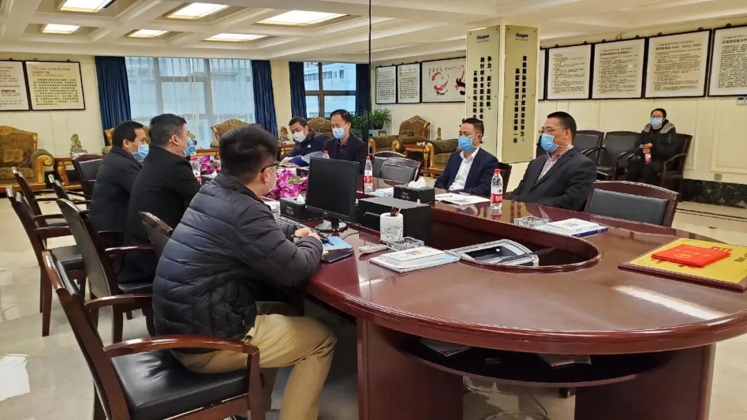 """永嘉县领导到环球阀门集团走访调研并开展""""三服务""""活动"""