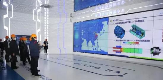 参观智慧泵站控制中心
