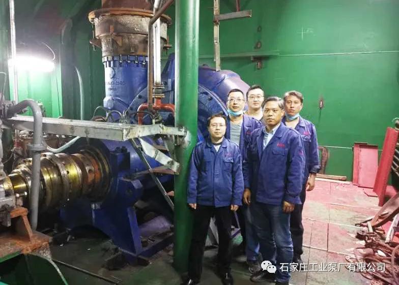 石工泵公司新产品800ND船用挖泥泵媲美进口先进设备