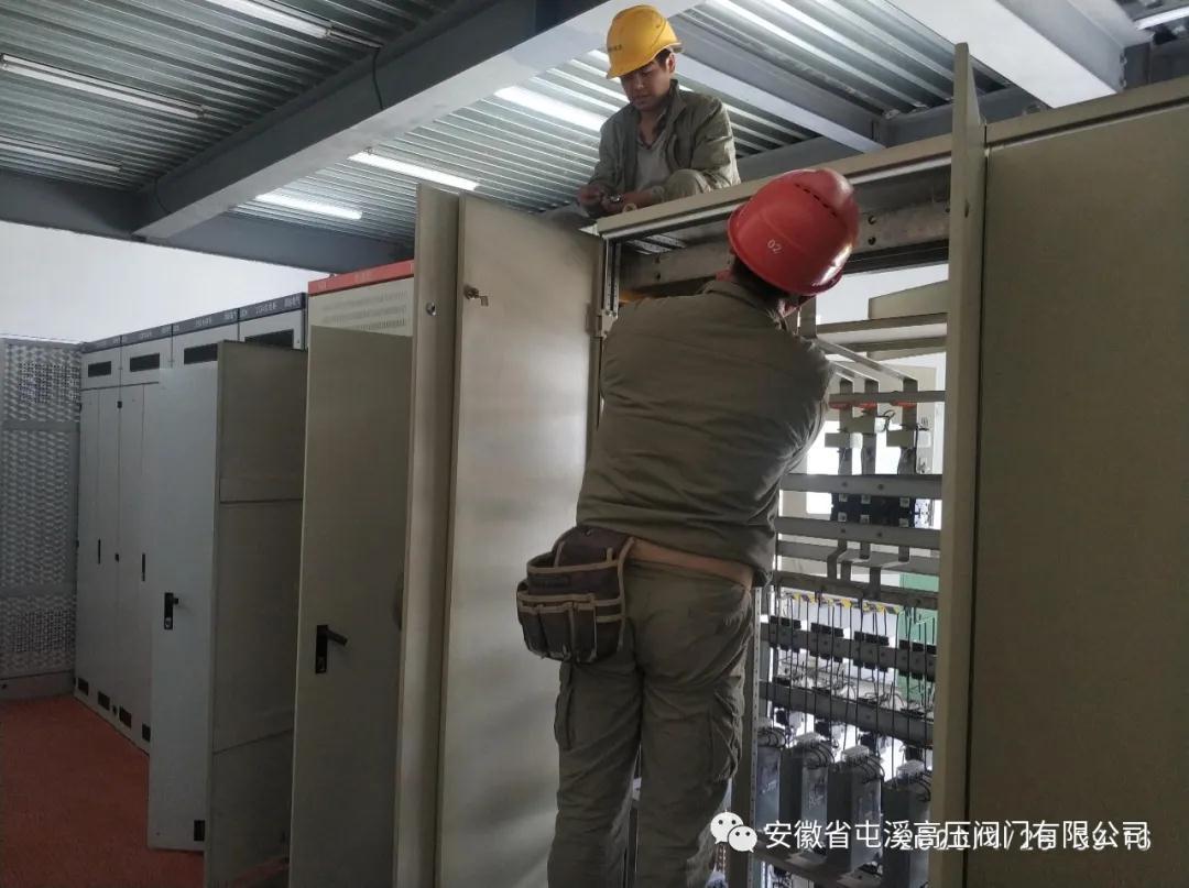 安徽省屯溪高压阀门:400KVA变压器扩