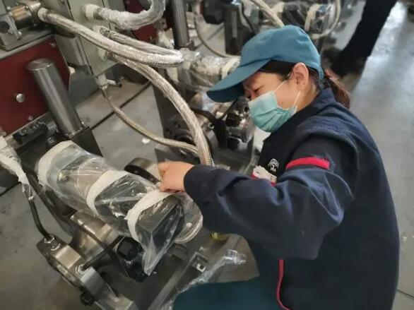 西安泵阀总厂:大口径绝缘接头产品发往中俄天然气管线长岭——永清段建设中