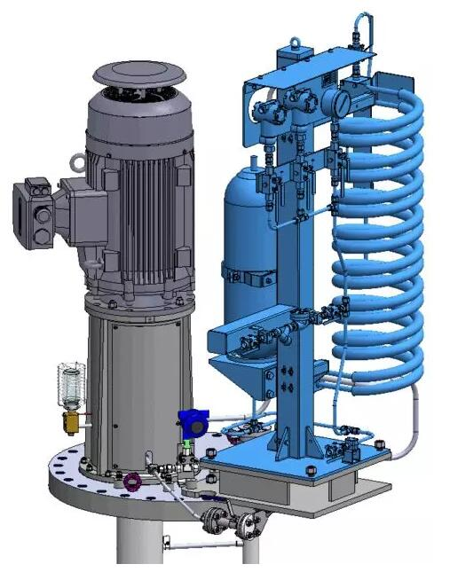Amarinth为全球最大储油洞库提供API 610 VS4泵