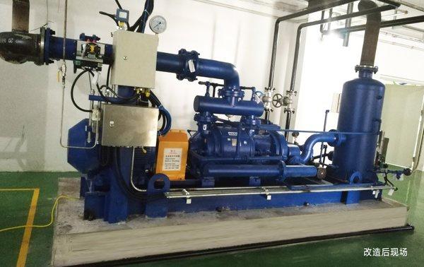 改造后的汽机配备NASH AT系列真空泵