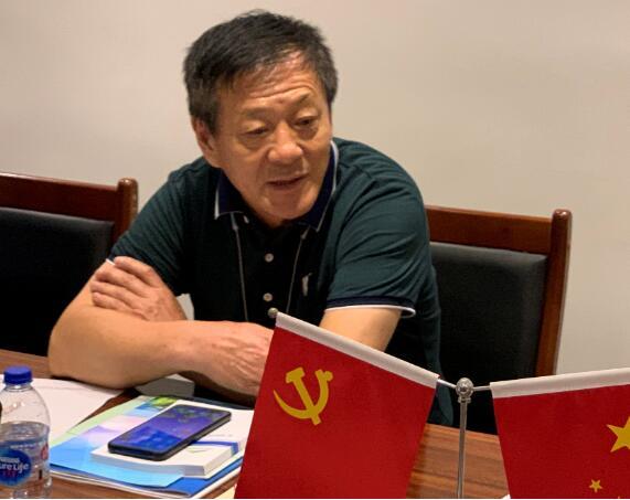 (企业家代表宋甲平讲话)