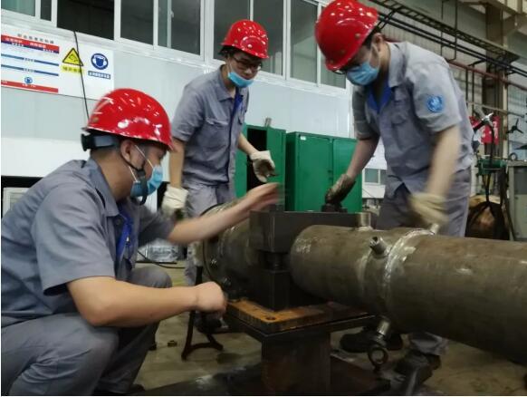 重庆水泵公司突击核电余热泵急难任务