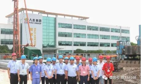上海人本集团新建车间项目开工