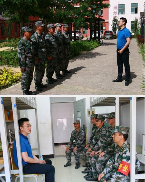 兰高阀:公司民兵参加轮训备勤训练