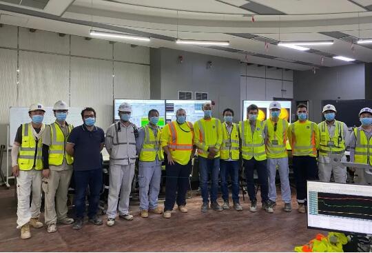 迪拜哈斯彦清洁燃煤电站项目1号机组顺利实现满负荷发电。