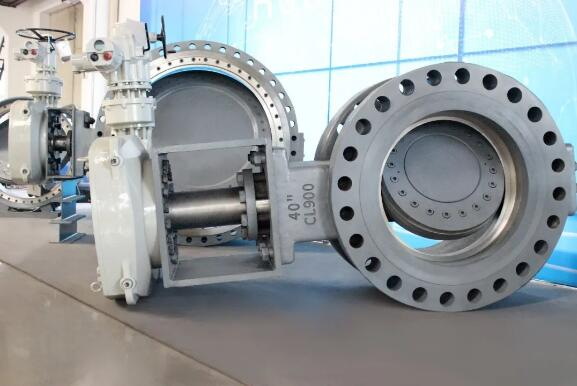 三偏心阀门 BUV3-CL900-40