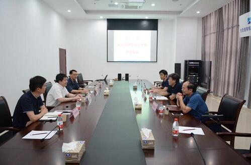 省科协党组成员、副主席魏军锋一行来合肥通用机械研究院调研