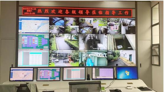 黄浦路泵站主画面
